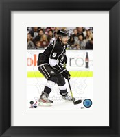 Framed Drew Doughty with the Puck 2012-13