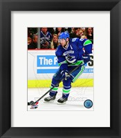 Framed Ryan Kesler 2012-13 Action