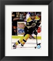 Framed Patrice Bergeron 2012-13 hockey