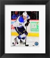 Framed T.J. Oshie in Action 2012-13