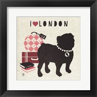 Framed London Pooch