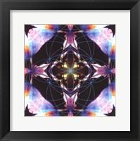Framed Crystal Refraction #12