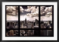 Framed New York Window