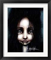 Framed Little Dahlia