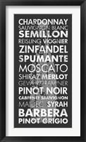 Framed Wine Around the World