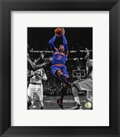 Framed Carmelo Anthony 2012-13 Spotlight Action