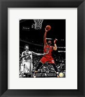 Framed Dwyane Wade 2012-13 Spotlight Action