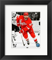 Framed Henrik Zetterberg 2012-13 Spotlight Action