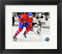 Framed Alex Galchenyuk 2012-13 Spotlight Action