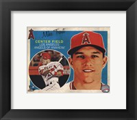Framed Mike Trout 2013 Studio Plus