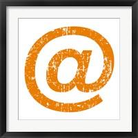 Framed Orange Ampersat