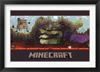 Framed Minecraft - World