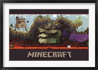 Framed Minecraft - World