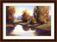 Framed Lake View 2