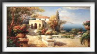 Framed Tuscan Pathway