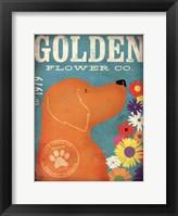 Framed Golden Flower Co.