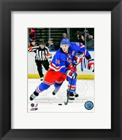 Framed Ryan Callahan 2012-13 Action