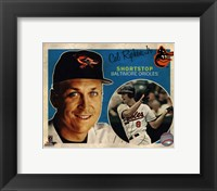 Framed Cal Ripken,Jr. 2013 Studio Plus
