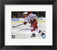 Framed Alex Ovechkin On The Hockey Ice