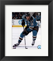 Framed Joe Thornton on Ice 2012-13