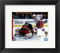 Framed Alex Ovechkin 2012-13 Action