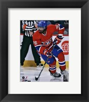 Framed P.K. Subban in action 2012-13