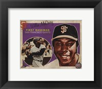 Framed Willie McCovey 2013 Studio Plus