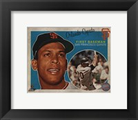 Framed Orlando Cepeda 2013 Studio Plus