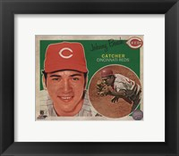 Framed Johnny Bench 2013 Studio Plus