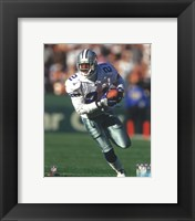 Framed Deion Sanders 1997 Action
