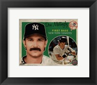 Framed Don Mattingly 2012 Studio Plus
