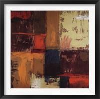Solar Square II Framed Print