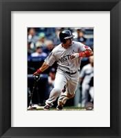 Framed Shane Victorino After Baseball Hit