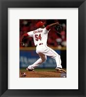 Framed Aroldis Chapman 2013 Cincinnati Reds