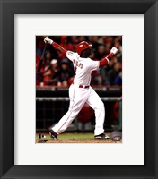 Framed Brandon Phillips 2013 Action