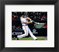Framed Dan Uggla 2013 Action