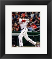 Framed Jayson Werth 2013 Action