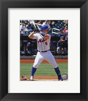 Framed David Wright 2013 New York Mets