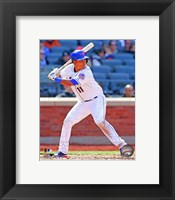 Framed Ruben Tejada batting 2013
