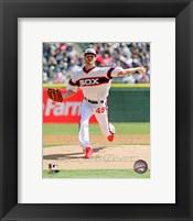 Framed Chris Sale 2013 Chicago White Sox
