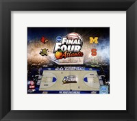 Framed 2013 NCAA Men's College Basketball Final Four Composite