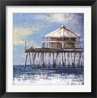 Boardwalk Pier Framed Print