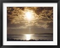 Framed Malibu Sunset