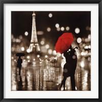 Framed Paris Kiss