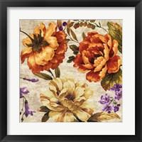 Framed Brilliant Bloom II