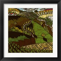 Framed Cypress Road