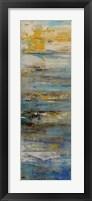 Beyond the Sea I Framed Print
