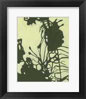 Framed Exotic Silhouette I