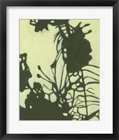 Exotic Silhouette I Framed Print