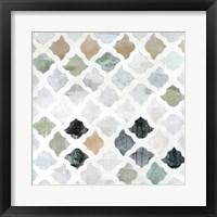 Framed Turkish Tile II